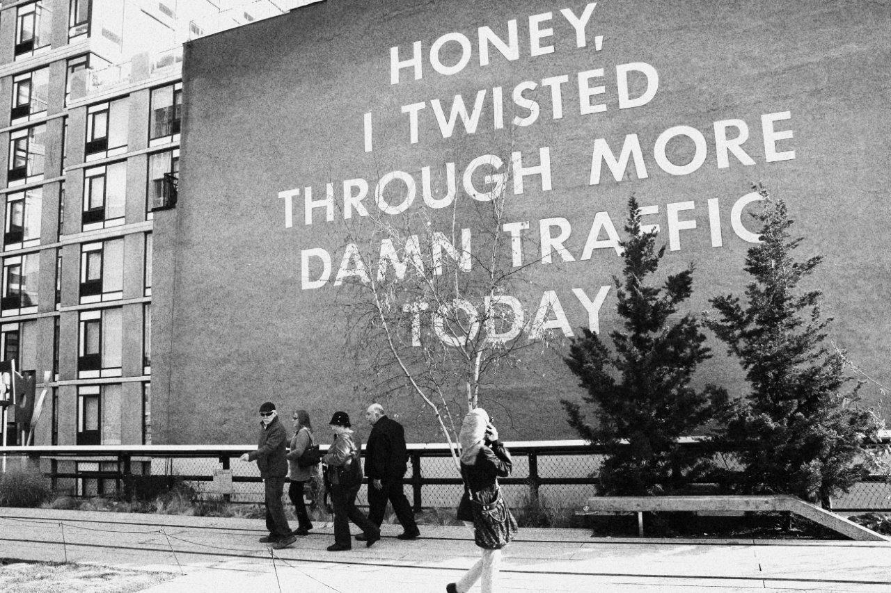 Mensaje desde la High Line